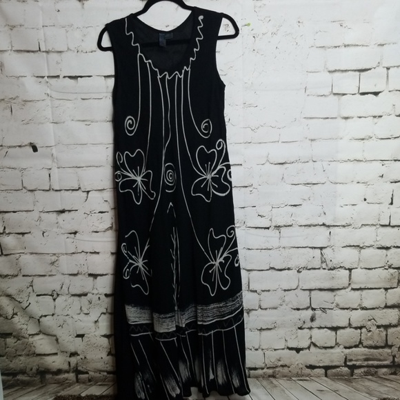 India Boutique Dresses Sleeveless Rayon Boho Maxi Dress